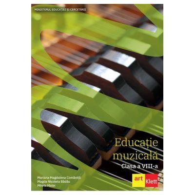 Educatie muzicala Manual pentru clasa a VIII-a ( Editura: Art Grup editorial, Autori: Mariana Magdalena Comanita, Magda Nicoleta Badau, Mirela Matei ISBN 978-606-9089-58-3 )