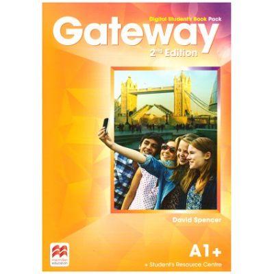 Gateway 2nd Edition, Digital Student's Book Pack, A1+ ( Editura: Macmillan, Autor: David Spencer ISBN 978-0-230-49845-7)