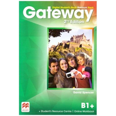 Gateway 2nd Edition, Digital Student's Book Premium Pack, B1+ ( Editura: Macmillan, Autor: David Spencer ISBN 9780230498518)