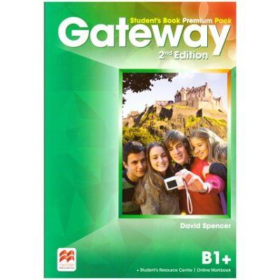 Gateway Student's Book Premium Pack, 2nd Edition, B1+ ( Editura: Macmillan, Autor: David Spencer ISBN 9780230473157)