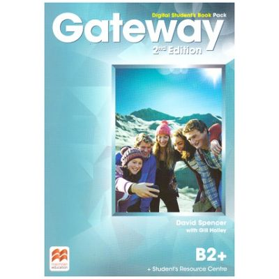 Gateway 2nd Edition, Digital Student's Book Pack, B2+ ( Editura: Macmillan, Autor: David Spencer with Gill Holley ISBN 9780-230-49855-6)