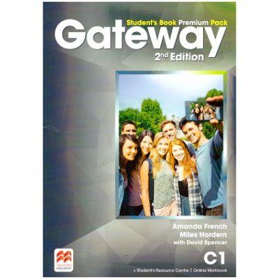 Gateway Student's Book Premium Pack, 2nd Edition, C1 ( Editura: Macmillan, Autori: Amanda French, Miles Hordern with David Spencer ISBN 9781786323125)
