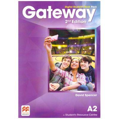 Gateway 2nd Edition, Digital Student's Book Pack, A2 ( Editura: Macmillan, Autor: David Spencer ISBN 978-0-230-49848-8)