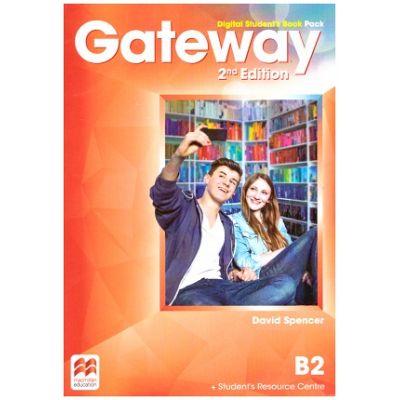 Gateway 2nd Edition, Digital Student's Book Pack, B2 ( Editura: Macmillan, Autor: David Spencer ISBN 9780230498549)
