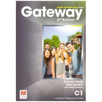 Gateway 2nd Edition, Digital Student's Book Pack, C1 ( Editura: Macmillan, Autori: Amanda French, Miles Hordern, David Spencer ISBN 978-1-786-32314-9)