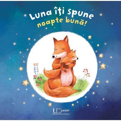 Luna iti spune Noapte buna! (Editura: Univers Enciclopedic, Autor: Ag Jatkowska ISBN 978-606-704-594-9)