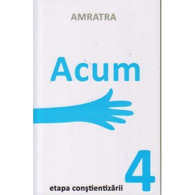 Acum. Etapa constientizarii 4 ( Editura: Letras, Autor: Amratra ISBN 9786068935089)