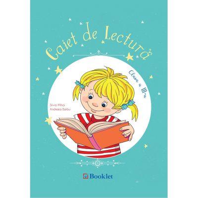 Caiet de lectura clasa a III-a PR073 ( Editura: Booklet, Autori: Silvia MIhai, Andreea Barbu ISBN 9786065908116 )