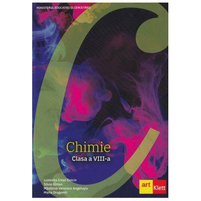 Chimie clasa a VIII-a (Editura: Art Grup editorial, Autori: Luminita Irinel Doicin, Silvia Girtan, Madalina Veronica Angelusiu, Maria Dragomir ISBN 978-606-9089-98-9)