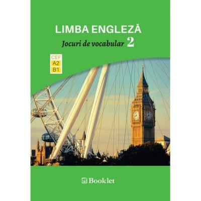 Limba modernă. Jocuri de vocabular 2. Nivel A2-B1 EN088 ( Editura: Booklet, Autor: Dragos Dinulescu ISBN 9786065908383)