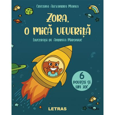 Zora, o mica veverita ( Editura: Letras, Autor: Cristina Alexandra Manea ISBN 9786060711568)
