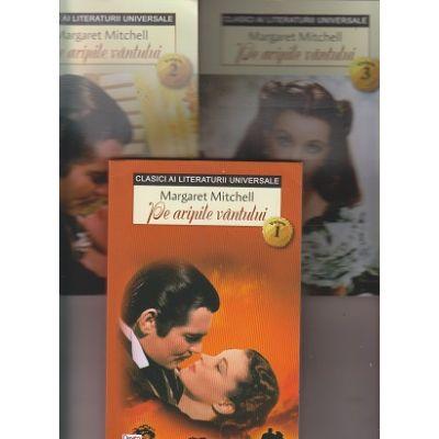 Pe aripile vantului set 3 volume ( Editura: Dexon Office, Autor: Margaret Mitchell ISBN 9786060501534)