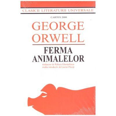 Ferma Animalelor (Editura: Cartex 2000, Autor: George Orwell ISBN 9789731049007)