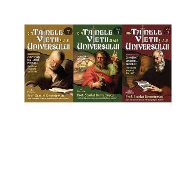 Din tainele vietii si ale universului. Versiune originala din 1939. Set 3 volume ( Editura: Prestige, Autor: prof. Scarlat Demetrescu ISBN 9786069651544)