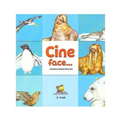 Cine face...? Animale si pasari de la Poli ( Editura: Lizuka Educativ, Autor: Dorin Bujdei ISBN 9786068714660)