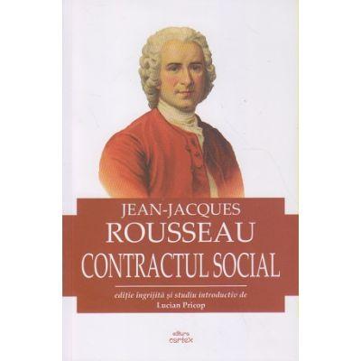 Contractul social (Editura: Cartex, Autor: Jean-Jacques ISBN 9786068893891)