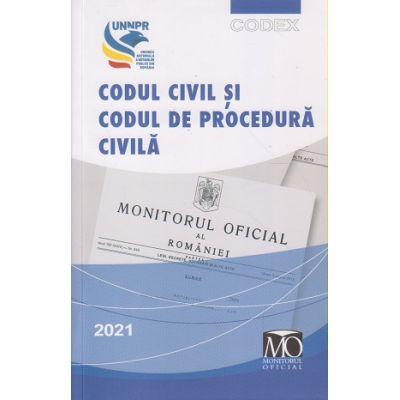 Codul civil si codul de procedura civila 2021(Editura: Monitor ISBN 9786060350668)