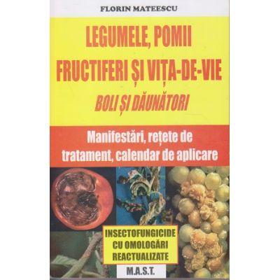 Legumele, pomii fructiferi si vita-de-vie. Boli si daunatori. Manifestari, retete de tratament, calandar de aplicare ( Editura: M. A. S. T., Autor: Florin Mateescu ISBN 9786066491280)