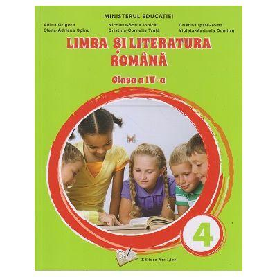 Limba si literatura romana manual pentru clasa a 4 a(Editura: Art Libri, Autor: Adina Grigore ISBN 9786063616365)
