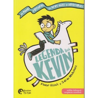 Legenda lui Kevin (Editura: Booklet, Autor: Philip Reeve ISBN 9786065907133)