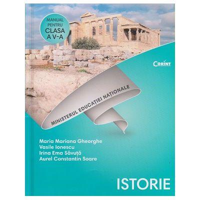 Istorie manual pentru clasa a 5 a +CD (Gheorghe) (Editura: Corint, Autor: Maria Mariana Gheorghe, Vasile Ionescu ISBN 9786067931310)